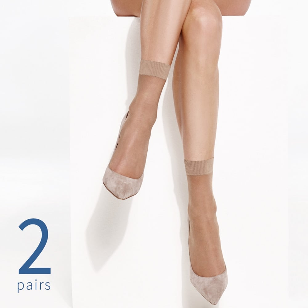 картинка Charnos Simply Bare ankle highs - 2 pair pack от магазина Missstockings.ru